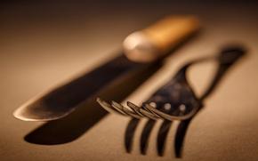 Wallpaper macro, background, knife, plug
