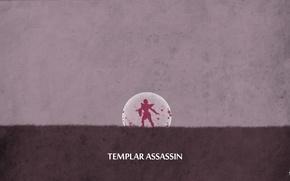 Picture valve, dota 2, sheron1030, minimalsim, Lana, Templar assassin