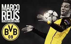 Picture Sport, Borussia Dortmund, League Champions, BVB, Marco Reus, RESPECT