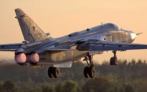 Wallpaper bomber, the rise, Su-24m