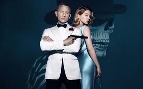 Picture spy, 007, spectre, daniel craig, james bond, Lea Seydoux