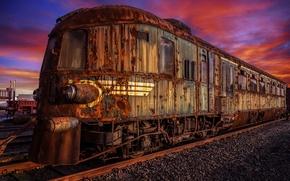 Picture train, scrap, Orient Expess