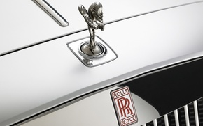 Wallpaper Rolls-Royce, Sign, Emblem