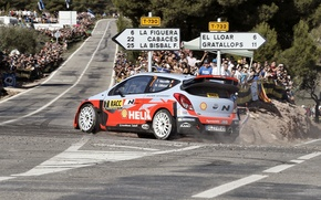 Picture Hyundai, WRC, Rally, Rally, Spain, i20, 2014, Neuville