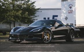 Picture Z06, Corvette, Chevrolet, One, Forged, Wheels, Piece, Forgeline, Monoblock, VX1