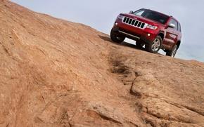 Wallpaper grand, jeep, cherokee, 2011