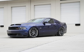 Picture Mustang, Ford, Matte, Velgen Wheels, VMB5, Gunmetal