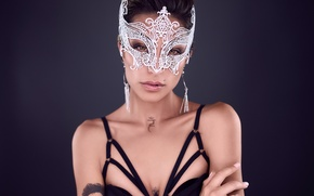 Picture face, model, mask, Madison