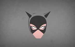 Picture minimalism, Catwoman, cat woman, blo0p