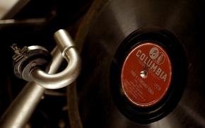 Picture vinyl, gramophone, music