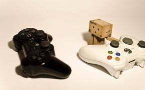 Picture box, Sony, Hi-Tech, PlayStation, joysticks