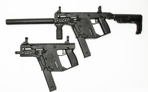 Picture the gun, Super V, SDP, Kriss-Vector, CRB