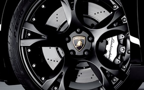 Picture metal, logo, wheel