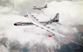 Wallpaper the sky, earth, aircraft