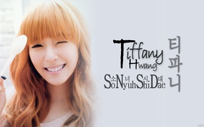 Picture Tiffany, So Nye Will Shi Dae, Korea, Girls' Generation