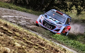 Picture cars, rally, jump, wrc, hyundai
