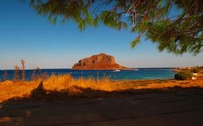 Picture photo, Nature, Sea, Greece, Landscape, Coast, Laconia