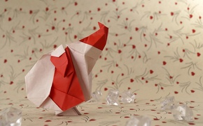 Picture holiday, toys, origami