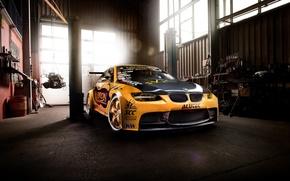 Picture car, tuning, BMW, garage, bmw m3, rechange, GT2 E92