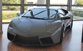 Picture Lamborghini, Reventon, Room, Parquet