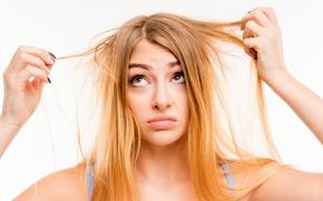 Wallpaper hair problems suppleness, concern, hair, annoyance