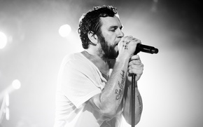 Picture light, singer, musician, stage, singing, Otto