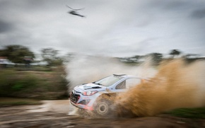 Picture squirt, rally, wrc, hyundai, portugal, i20, 2014