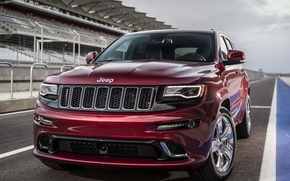 Picture jeep, the front, SRT, Jeep, Grand Cherokee, powerful