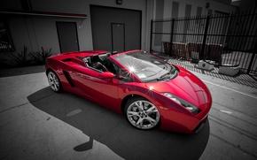 Picture Lamborghini, Red, Gallardo, tuning