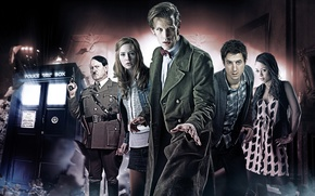 Picture look, girl, pose, actress, actor, male, form, coat, Doctor Who, Doctor Who, The TARDIS, Hitler, …