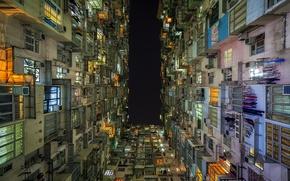 Picture Sky, Lights, Night, Hong Kong, Quarry Bay, Peter Stewart Photography, Peter Stewart