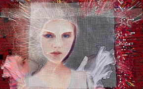 Picture background, mesh, face, color
