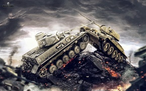 Picture Germany, USSR, T-34, WoT, World of Tanks, World Of Tanks, The situation, Wargaming Net, Medium ...