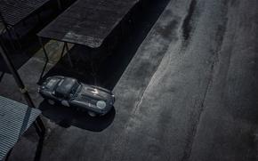 Picture car, Jaguar, sportcar, road, race, classic, urban, E-type