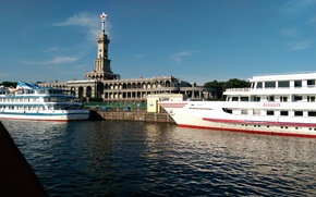 Picture Marina, Moscow, river station