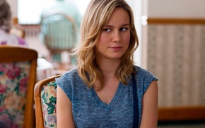 Picture Brie Larson, The girl without complexes, In what does not deny, Trainwreck