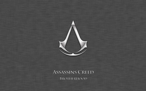 Picture the game, logo, assassins creed, assassins