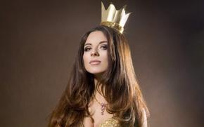 Picture crown, Anna Pletneva, singer, Vintage