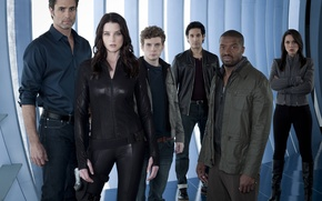 Picture look, The series, Movies, Continuum, Continuum, the actors of the series