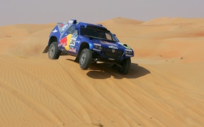 Picture Volkswagen, Touareg Race, in the sand