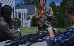 Picture The Walking Dead, The walking dead, Glenn, Steve Yeun