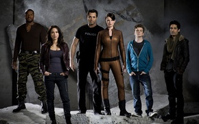 Picture The series, Movies, Continuum, Continuum, the actors of the series