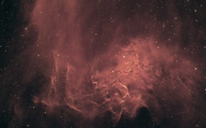 Picture space, nebula, IC 405, the blazing star