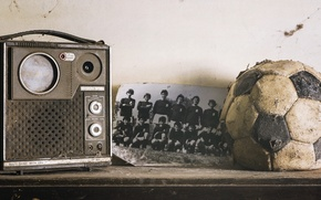 Wallpaper dreams, time, life, memory, photo, the ball, radio, nostalgia