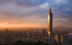 Picture the city, skyscraper, Taiwan, Taiwan, Taipei, Taipei