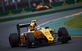 Picture Turn, Reno, Formula 1, The front, Jolyon Palmer, Renauult