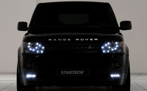 Picture black, land rover, startech