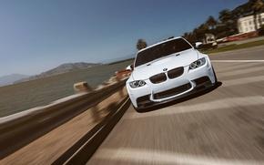 Picture BMW, Car, White, San Francisco, Sport, Sedan, E90, Performance, Island, Treasure