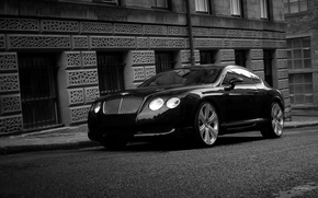 Wallpaper black, bentley, continentalgt
