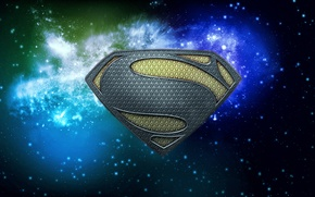 Picture space, superman, man of steel superman